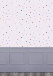 Dotty Blossom Wallpaper (4435144736826)