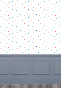 Dotty Primary Wallpaper (4435144638522)