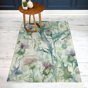 Damson Bristle 170x220 Large Watercolour Rug (4435304906810)