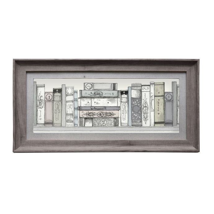 Library Books Framed Print  (4416065798202)