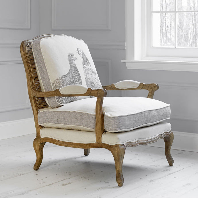 Voyage Florence Chair Kissing Pheasants Design (4170094739525)