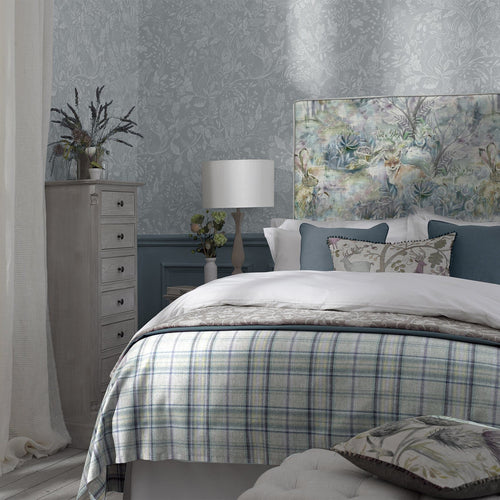 Grace Headboard with Fox and Hare Design (4470607839290)