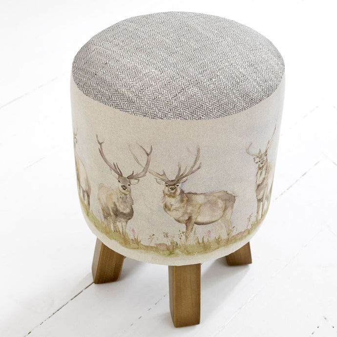 Mooreland Stag Monty Footstool
