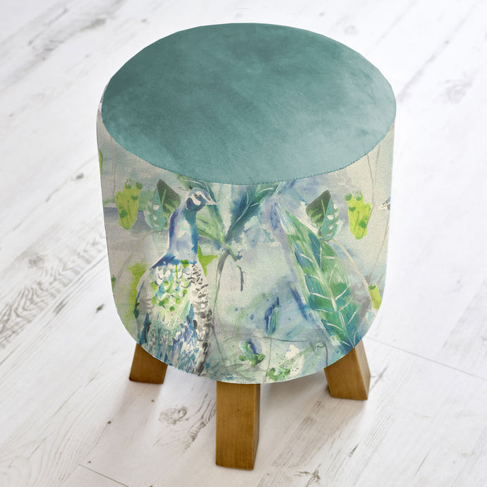 Monty Footstool in Ebba