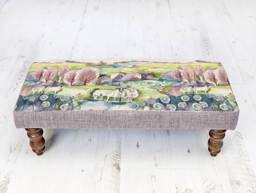Buttermere Rectangular Mya Footstool (4414097031226)