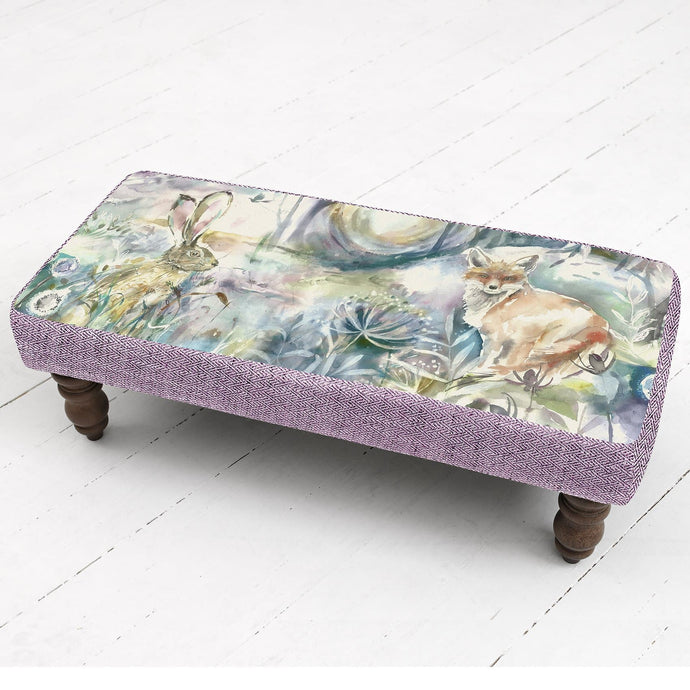 Fox and Hare Mya Footstool