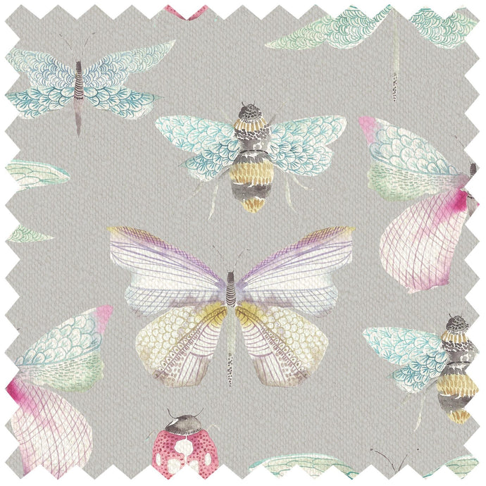 Garden Wings Pastel - Fabric by the Metre