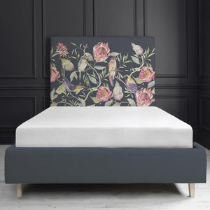 Havana Navy Grayson Bed Frame