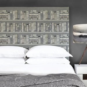 Grace Headboard with Library Books Design (4471193075770)