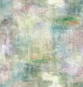 Voyage Monet Coral Wallpaper (4474425999418)