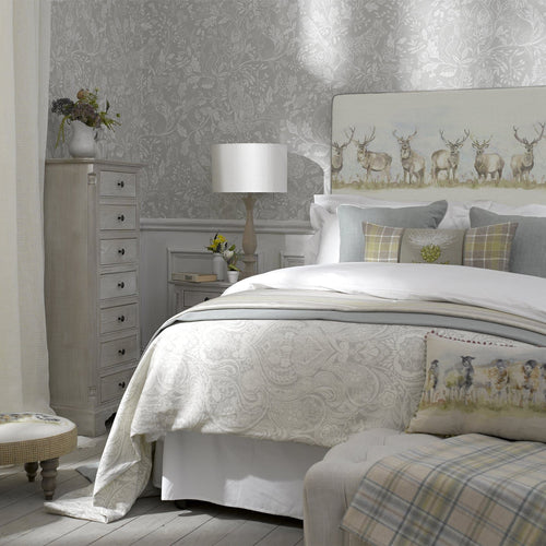 Grace Headboard with Moorland Stag Design (4470587555898)