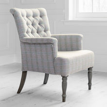 Load image into Gallery viewer, Nero chair with Newton Loganberry fabric