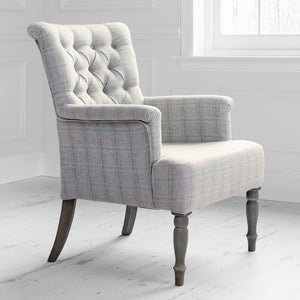 Nero chair with Newton Loganberry fabric