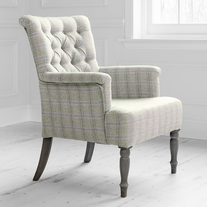 Nero chair with Newton Orchard fabric