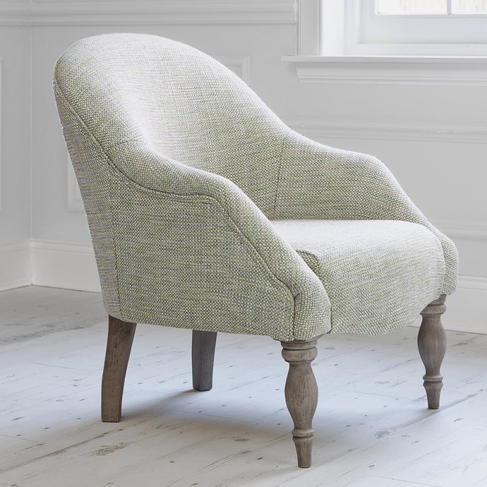 Poppy Chair with Merian Emerald Fabric