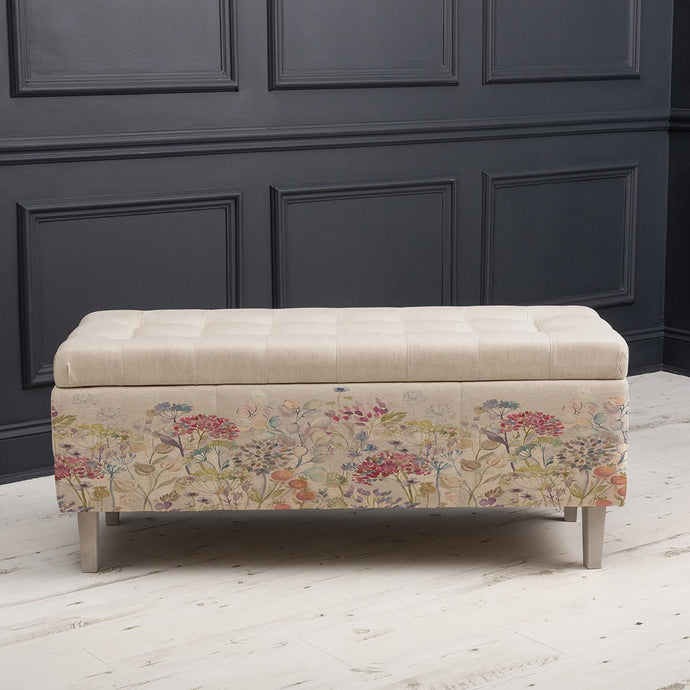 Hedgerow Classic Linen - Porter Storage Bench