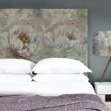 Load image into Gallery viewer, Grace Headboard with Roseum Coral Design (4471189274682)