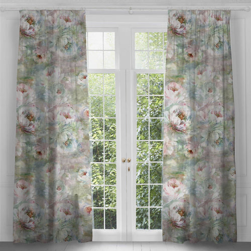 Roseum Coral Extra Long Curtains