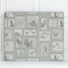 Load image into Gallery viewer, Grace Headboard with Slyva Duck Egg Design (4471193829434)