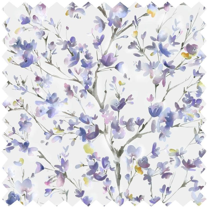 Belsay Violet Extra Wide - Fabric by the Metre (6209587216582)