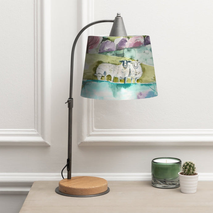 Voyage Thanos Table Lamp and Buttermere Shade