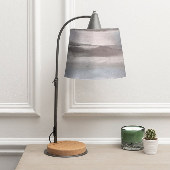 Voyage Thanos Table Lamp and Fjord Cloud Shade