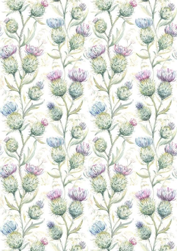Thistle Glen Spring Cream - Fabric Remnants
