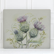 Load image into Gallery viewer, Grace Headboard with Thistle Glen Design (4470599909434)
