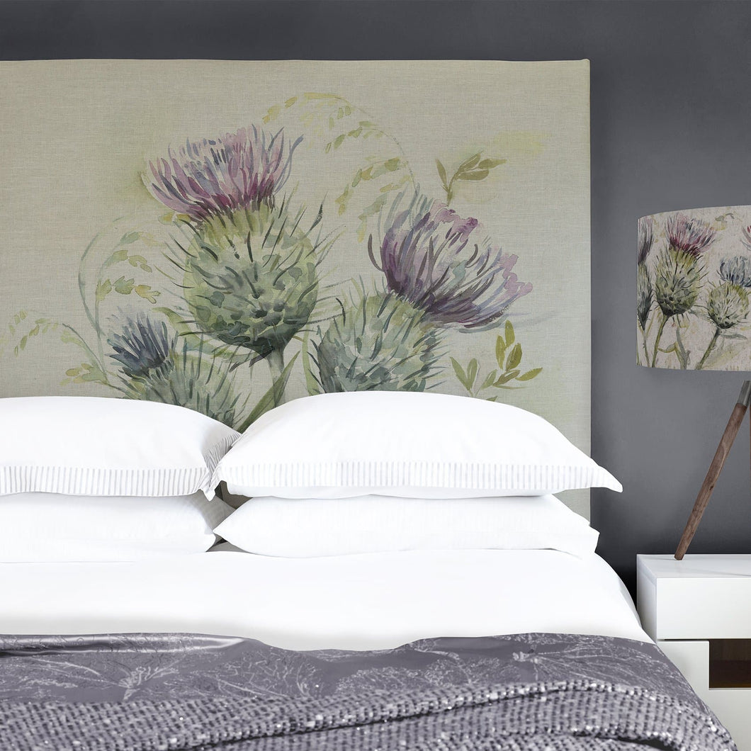 Grace Headboard with Thistle Glen Design (4470599909434)