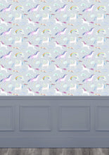 Load image into Gallery viewer, Unicorn Dance Stone Wallpaper (4435145556026)