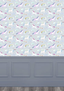 Unicorn Dance Stone Wallpaper (4435145556026)