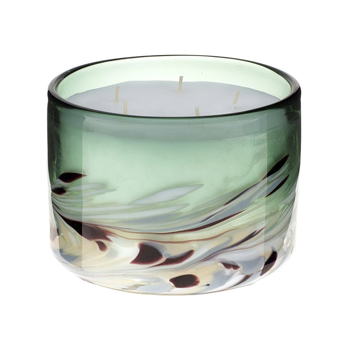 Large Athena 5 Wick Candle in Emerald (4434195939386)