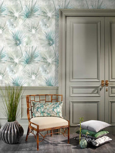 Voyage Amida  Emerald Wallpaper (4436437303354)
