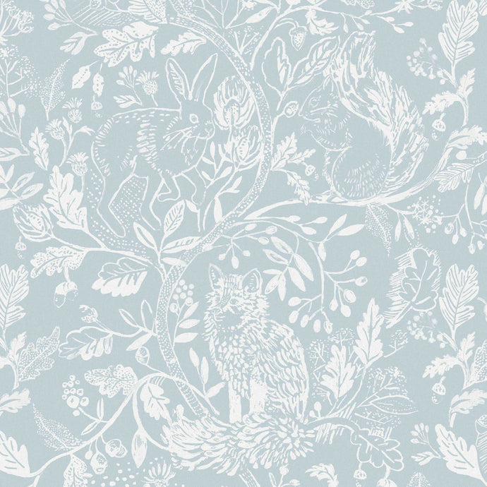 Voyage Cademuir - Cornflower Wallpaper (4435139199034)