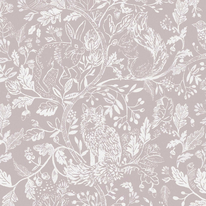 Voyage Cademuir - Grape Wallpaper (4435139035194)