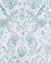 Load image into Gallery viewer, Voyage Colscott - Teal Wallpaper (4435092111418)