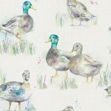 Load image into Gallery viewer, Darling Ducks Linen - Oil Cloth (4477941219386)