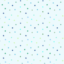 Load image into Gallery viewer, Voyage Dotty Lagoon Wallpaper (4435144704058)