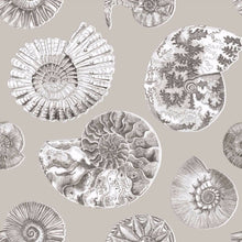 Load image into Gallery viewer, Voyage Fossilium - Sepia Wallpaper (4435122978874)