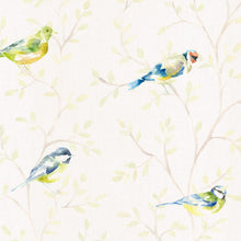 Load image into Gallery viewer, Voyage Garden Birds Large - Cream Wallpaper (4436285390906)