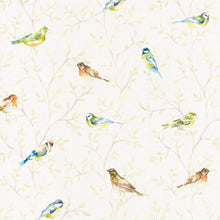 Load image into Gallery viewer, Voyage Garden Birds Small - Cream Wallpaper (4436285358138)
