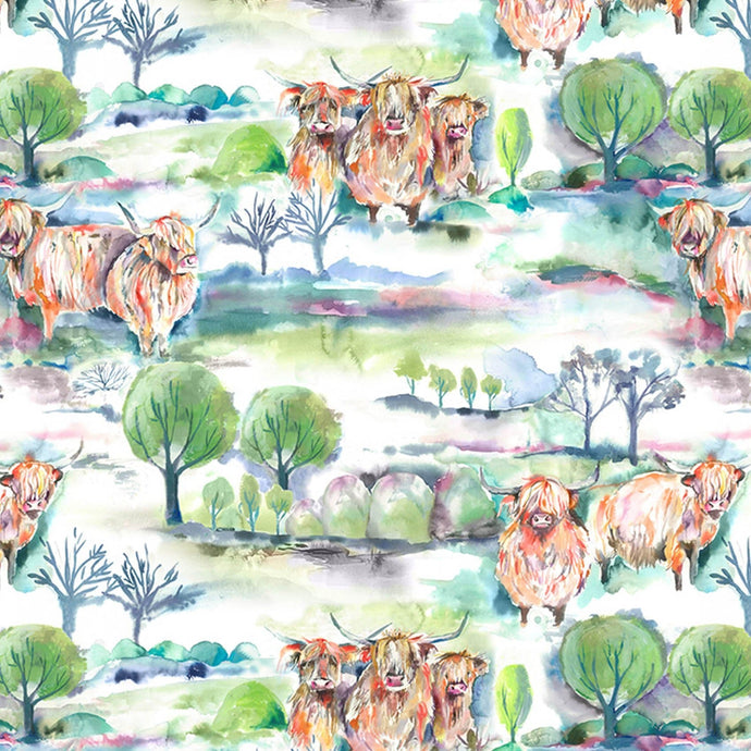 Voyage Heilan Herd Linen - Oil Cloth (4477927456826)