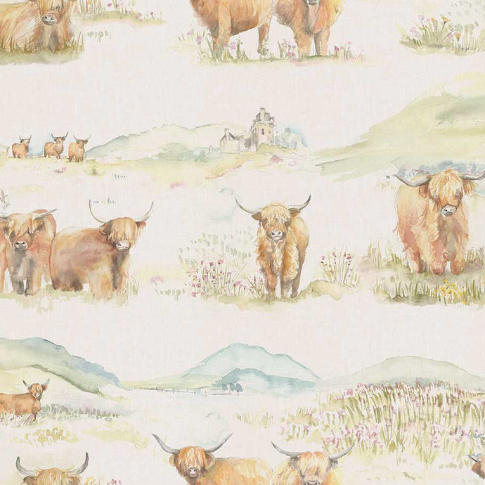 Voyage Highland Cattle - Highland Cattle Wallpaper (4436283883578)