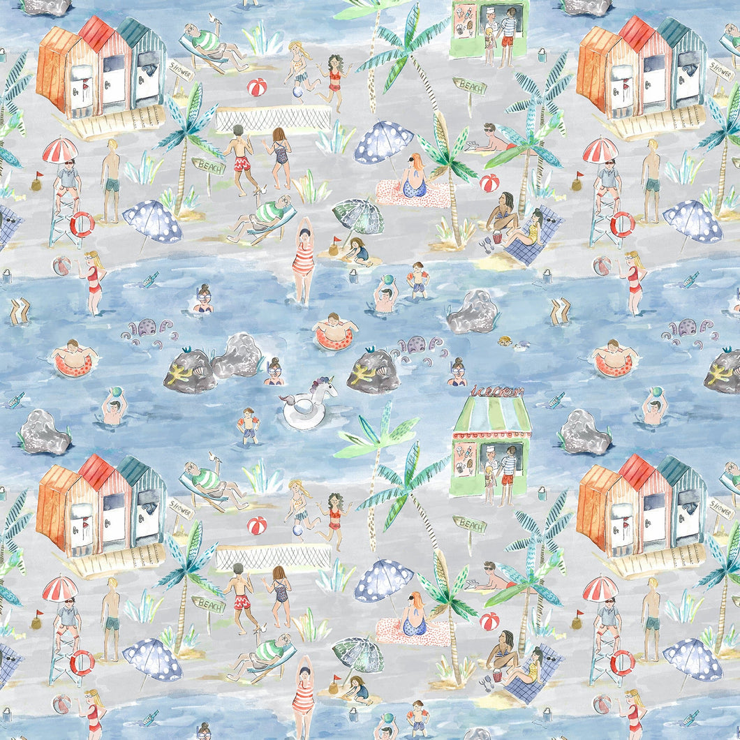 Voyage Let's Go To The Beach Stone Wallpaper (4435144867898)