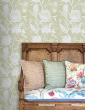Load image into Gallery viewer, Moorehaven Damask - Meadow Wallpaper (4435094437946)