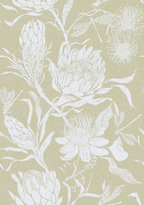 Voyage Moorehaven Damask - Meadow Wallpaper (4435094437946)