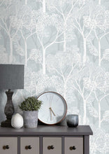 Load image into Gallery viewer, Voyage Nippon Damask - Damask Opal Wallpaper (4436440154170)