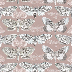 Voyage Nocturnal - Taupe Wallpaper (4435123732538)