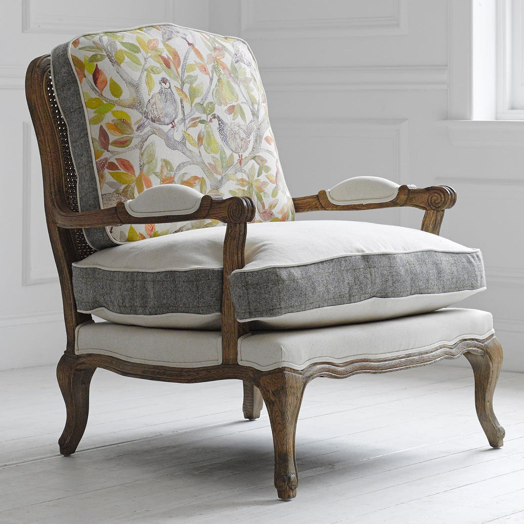 Partridge Oak Florence Chair (4170094641221)
