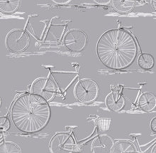 Load image into Gallery viewer, Voyage Penny Farthing - Antique Wallpaper (4435124256826)